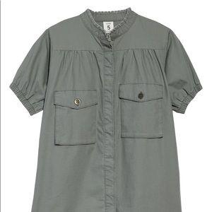 Stem organics Cargo Pocket short Dress NWT size 7